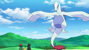 On Lugia They Go, Ash and Go!