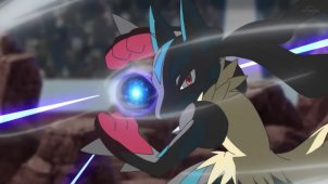 A Battle Festival Exploding With Life! VS Mega Lucario!!