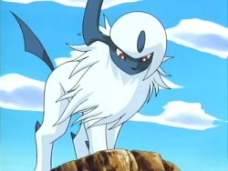 Absol! Creeping Shadow of Disaster!