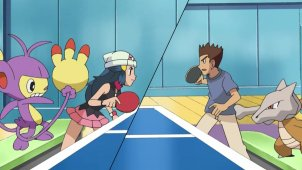 Pok�mon PingPong Competition! Ambipom Perseveres!!