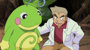 Rescue Professor Oak! Politoed VS Croagunk!!