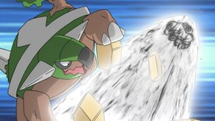 Elite Four Bertha! Hippowdon vs Torterra!!