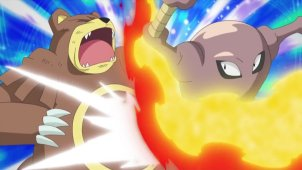 Sinnoh League Third Round! Barry VS Paul!