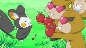 Beware of Cute Faces! Emolga Paralyses!