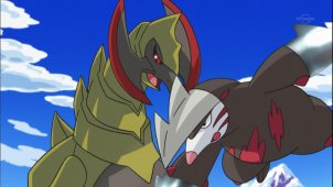 The Dragon Buster Appears! Iris & Excadrill!!