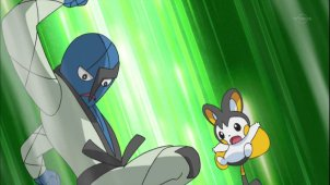 Heated Don Battle! Emolga VS Sawk!!