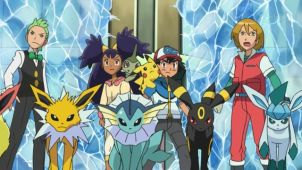 Team Eevee, Depart! The Pok�mon Rescue Squad!!
