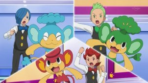 Cilan VS The Ice Challenger! The Crisis at Striation Gym!!