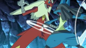 Korrina and Lucario! The Secrets of Mega Evolution!