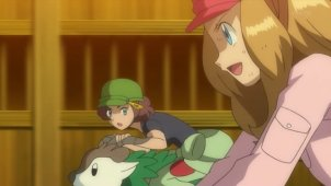 Serena Gets Serious! The Wild Skiddo Race!!
