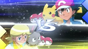 Lumiose Gym Match! Ash VS Clemont!!