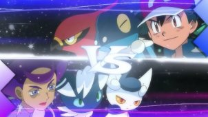 Double Battle at the Anistar Gym! Olympia's Future Sight!!
