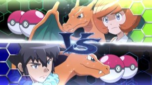 The Kalos League Begins! Mega Charizard Showdown: X VS Y!!