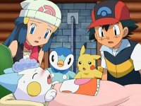Pachirisu's Fever! Care-taking by Two People!?