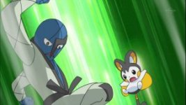 The Club Battle Hearts of Fury, Emolga Versus Sawk!