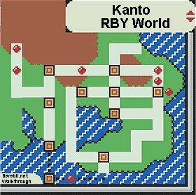 pokemon fire red how to get world map