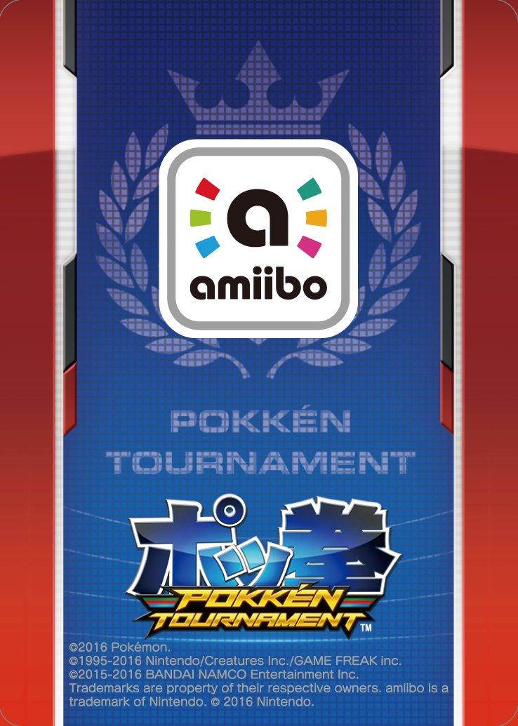 Shadow Mewtwo - amiibo - Pokkén Tournament Series - Serebii net
