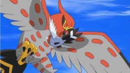 Episode 839 battles in the sky - Ash fletchinder evolves into talonflame ...