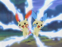 Episode 314: Plusle and Minun! The Mountain Lighthouse!