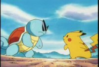 pikachu vs squirtle