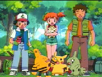 ash misty and brock