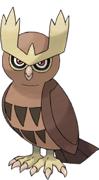 Noctowl Art