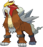 Entei Art