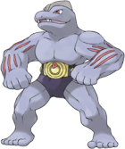 Machoke Art