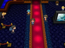 Pokemon black 2 dressing room
