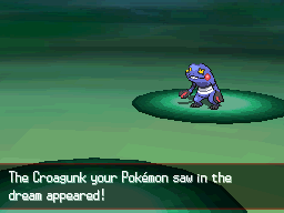 Pokémon Black & White - Croagunk Giveaway