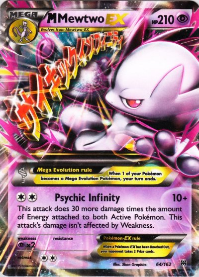 Tcg breakthrough 64 m mewtwo ex - Mewtwo y mega evolution ...
