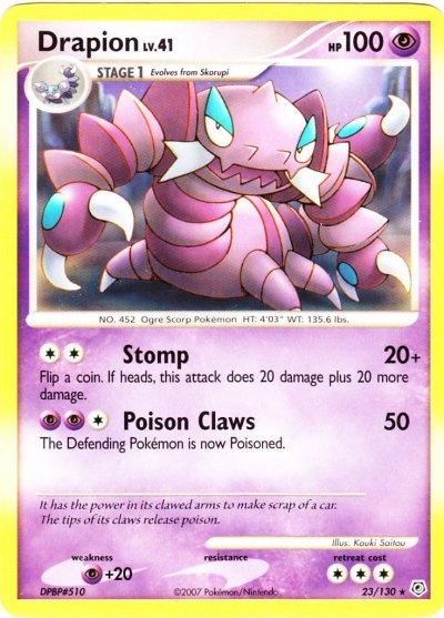 Drapion (Pokémon) - Bulbapedia, the community-driven ...