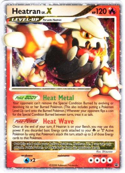 pokemon cards lv x. Heatran Lv. X, 120 HP