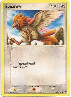 Serebii.net TCG EX Crystal Guardians - #61 Spearow  Spearow