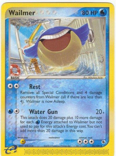 Serebii.net TCG EX Ruby and Sapphire - #48 Wailmer Wailmer Pokemon Card