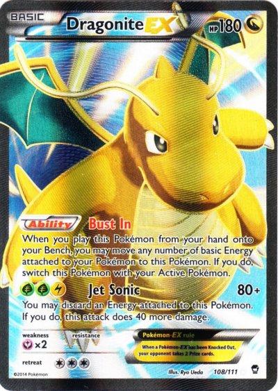 Dragon Type Pokemon Cards Dragonite