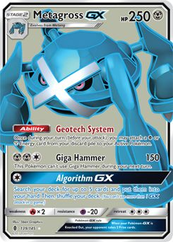 Serebii Net Tcg Guardians Rising 139 Metagross Gx