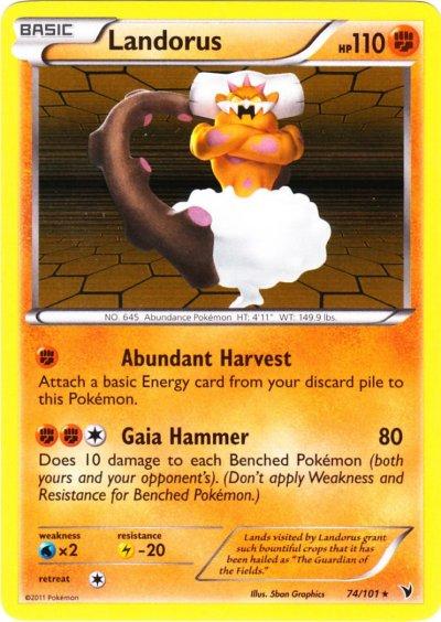 pokemon black how to get landorus