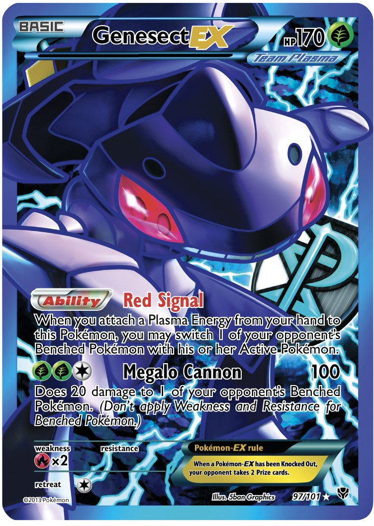 Genesect ...