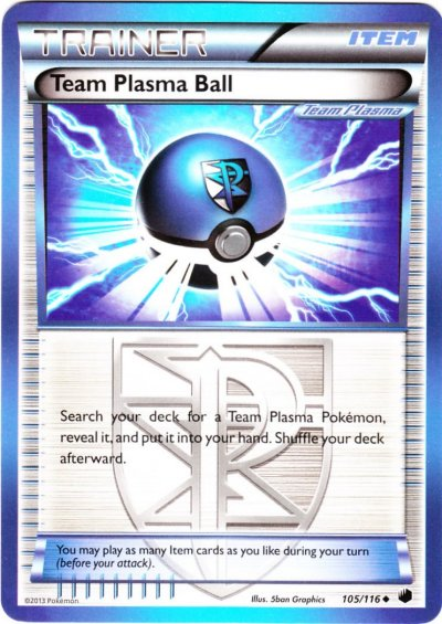 Tcg plasma freeze 105 team plasma ball - Carte pokemon team plasma ...