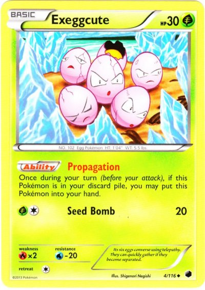 Serebii Net Tcg Plasma Freeze 4 Exeggcute