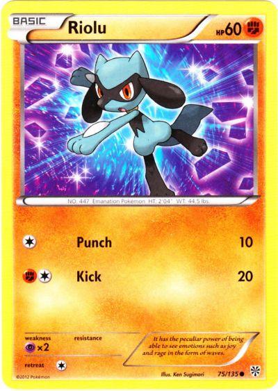 Riolu Pokemon Card Images | Pokemon Images