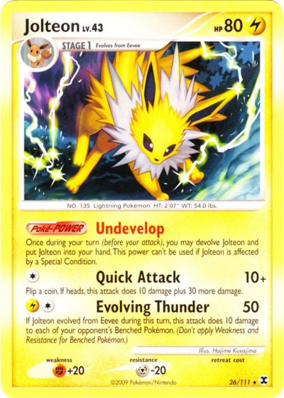 serebiinet tcg rising rivals 26 jolteon