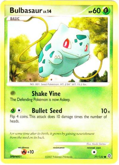 Bulbasaur Pokemon Card Images