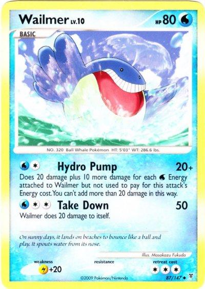 Serebii.net TCG Supreme Victors - #87 Wailmer Wailmer Pokemon Card