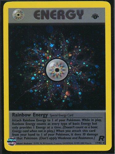 Rainbow Energy 131//146 BD2 Mint Pokemon Card