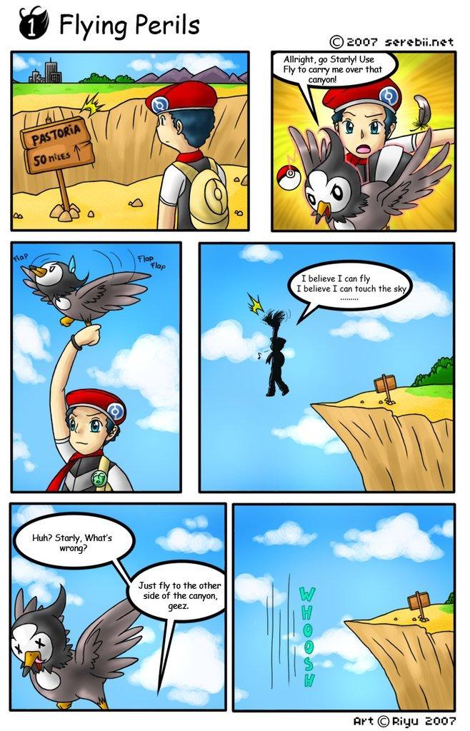 Serebii Net Comics Flight Perils