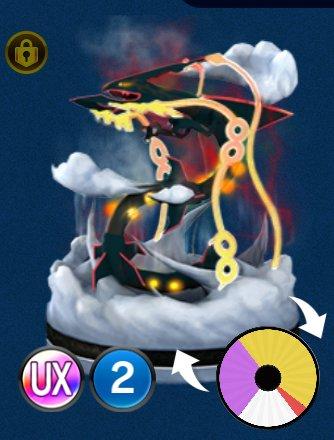 Pokémon Duel - ID-638 - Shiny Mega Rayquaza