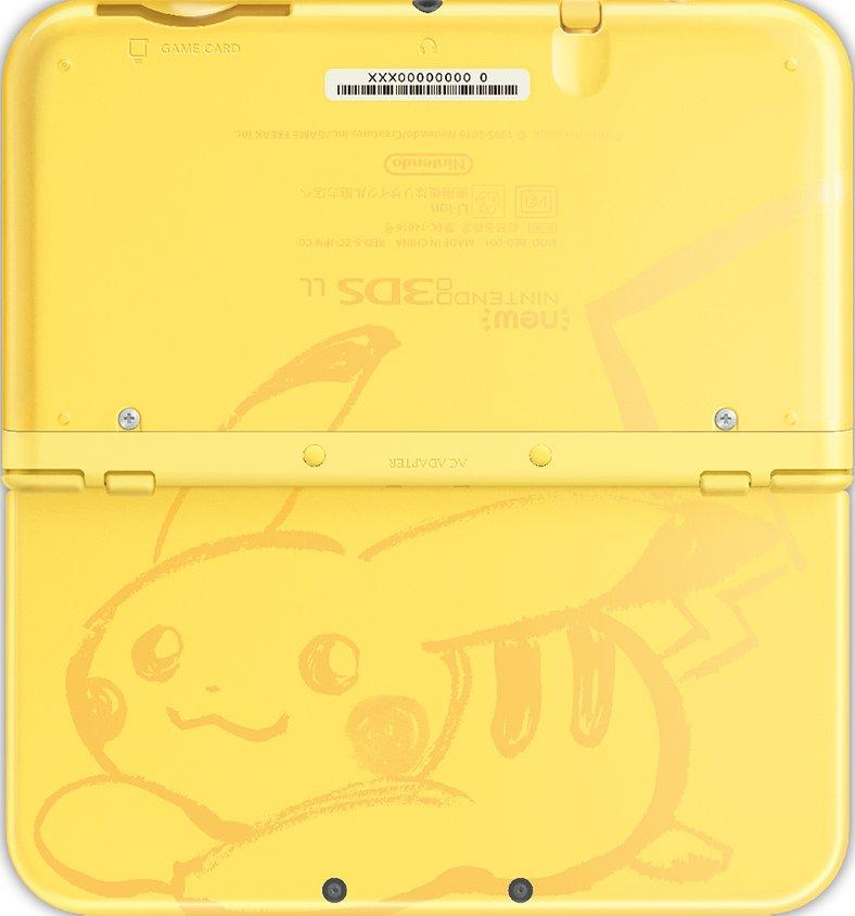 Pok mon special edition consoles for 3ds xl pikachu achat