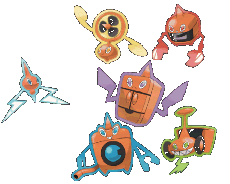 top 10 best pokemon of all time! Rotom